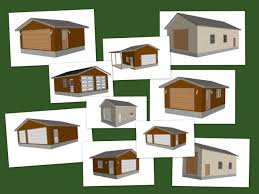10 garage plans pdf barn plans and blueprints