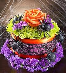 halloween flower arrangements and treats j u0026 a flowers and gifts