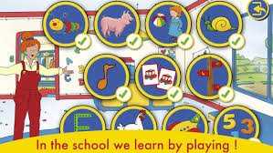 a day with caillou android apps on play