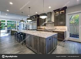 brown kitchen cabinets with backsplash modern kitchen with brown kitchen cabinets 140076086