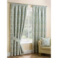 Duck Egg Blue Floral Curtains Quality Collection Of Ready Made Curtains From Closs U0026 Hamblin