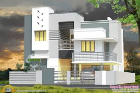 tamil nadu style 3d house elevation design 4 fancy house building