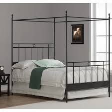 cara full metal canopy bed free shipping today overstock com
