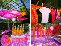 baby shower colors for a girl more bright cheerful baby shower inspiration for your enjoyment