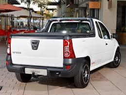 nissan np200 is a dacia logan pick up in south africa autoevolution