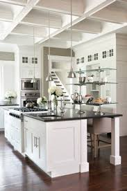 white kitchen with black island black granite kitchen island foter