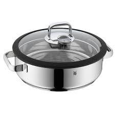 vapeur cuisine cuit vapeur inox 5 l couvercle verre vitalis aroma wmf vin et cuisine