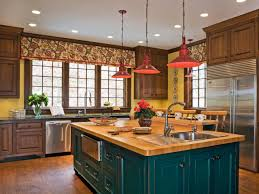 kitchen colorful kitchen decorating ideas red kitchen island full size of kitchen dark blue kitchen island with butcher block countertop and drawers also with