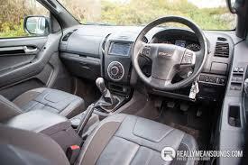 isuzu dmax interior isuzu d max blade road test