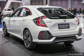 honda civic coupe 2017 bangkok 2017 honda civic hatchback 1 5l turbo