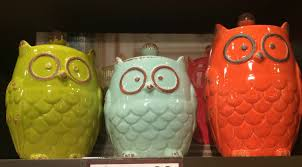 owl kitchen canisters owl canisters for the kitchen home design ideas and pictures
