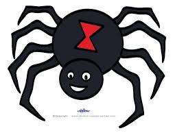 7 best images of printable halloween templates spider halloween