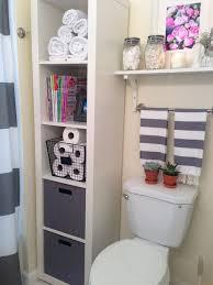 Organizing A Small Bathroom - diy bathroom storage and organization hacks involvery community blog