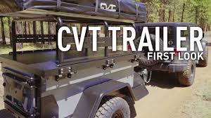 jeep offroad trailer cvt trailer u0026 rtt first look youtube