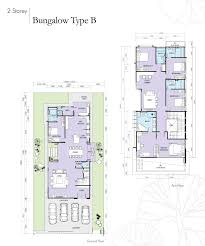 bungalow house plan malaysia design ideas floor single storey