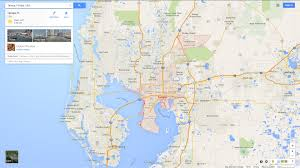 Tampa Florida Usa Map by Map Tampa Florida My Blog