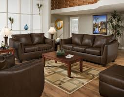 couch and loveseat set brown cordovan bonded leather sofa u0026 loveseat set w options