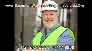 basement waterproofing philadelphia waterproofing companies youtube