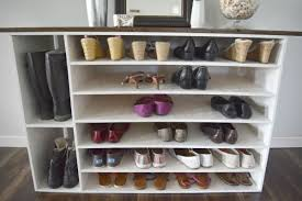 shoe and boot cabinet boot rack shoe storage aw smallspaces about com and cabinet wood