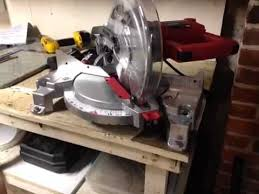 Skil Table Saw Getting Ready To Use Your Skil Saw Compound Miter Table Saw Youtube
