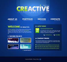 web bureau website template 21945 creative design web custom website template