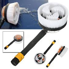car truck auto vehicle wash brush switch foam rotation cleaning
