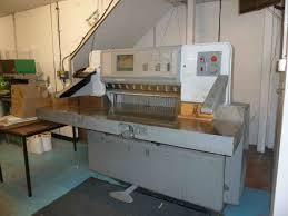 guillotines used finishing machines polar 92 e guillotine
