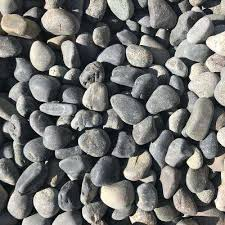 Black Landscape Rocks Hardscapes The Home Depot