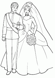 wedding coloring book pages free coloring