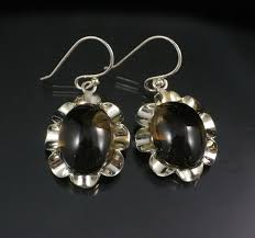 smoky quartz earrings smoky quartz earrings feel crystals jewellery