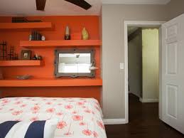 Orange Accent Wall by Photos Flipping The Block On Hgtv Hgtv