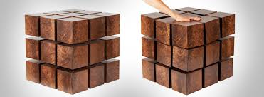 floating table magnetic cubes table