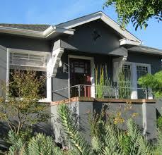 kate and kevin u0027s craftsman green plum design bungalow exteriors