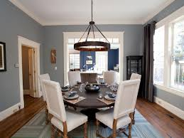Hgtv Dining Room Designs by Delighful Blue Dining Room Rooms For Design Decorating