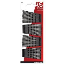 bobby pins vidal sassoon bobby pins black 60 count hair pins