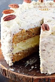 carrot cake cheesecake cake shugary sweets