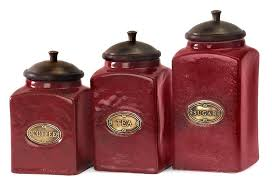 kitchen canister set ceramic kitchen canister sets in color glass set ceramic and of three
