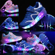 shoes with lights on the bottom roller shoes ebay