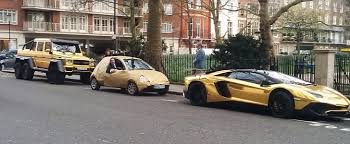 arab wrap gold ford ka trolls arab gold wrap g63 amg aventador and
