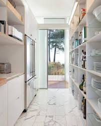 Exciting Small Galley Kitchen Remodel Ideas Pics Inspiration Kitchen Whiite Wooden Corridor Galley Kitchen Renovation Design