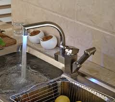 kitchen sink faucet sprayer shades brushed nickel kitchen sink faucet with pullout sprayer