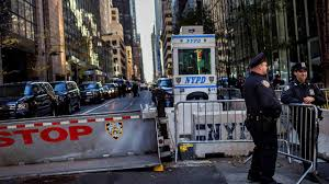 Trump Tower Ny Traffic Security Around Trump Tower Presents