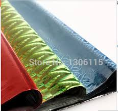 holographic gift wrap colored cellophane paper 100sheets bag 50 70cm holographic paper