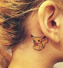 45 tattoos ear for endless and cuteness