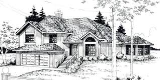 split level house plans split level floor plans house front color elevation view for split