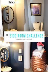 100 room challenge week 4 powder room reveal u2014 dapper house designs