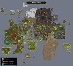 Oldschool Runescape World Map by Map Fairy Rings Runescape Wiki Fandom Powered By Wikia