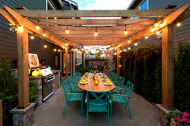 outdoor space ideas home lighting cool pergola light ideas marvelous teak pergola