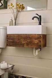 natural wood bathroom vanity home vanity decoration