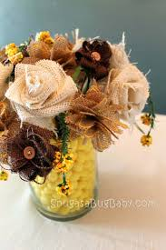 burlap flowers how to make a burlap flower bouquet snugasabugbaby